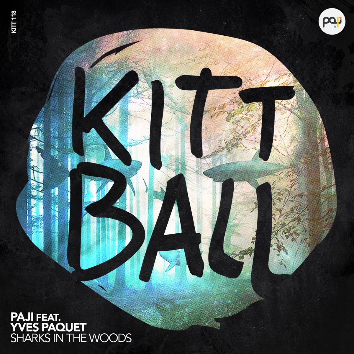 packshot_paji_feat._yves_paquet_-_sharks_in_the_woods_-_kittball_records.jpg