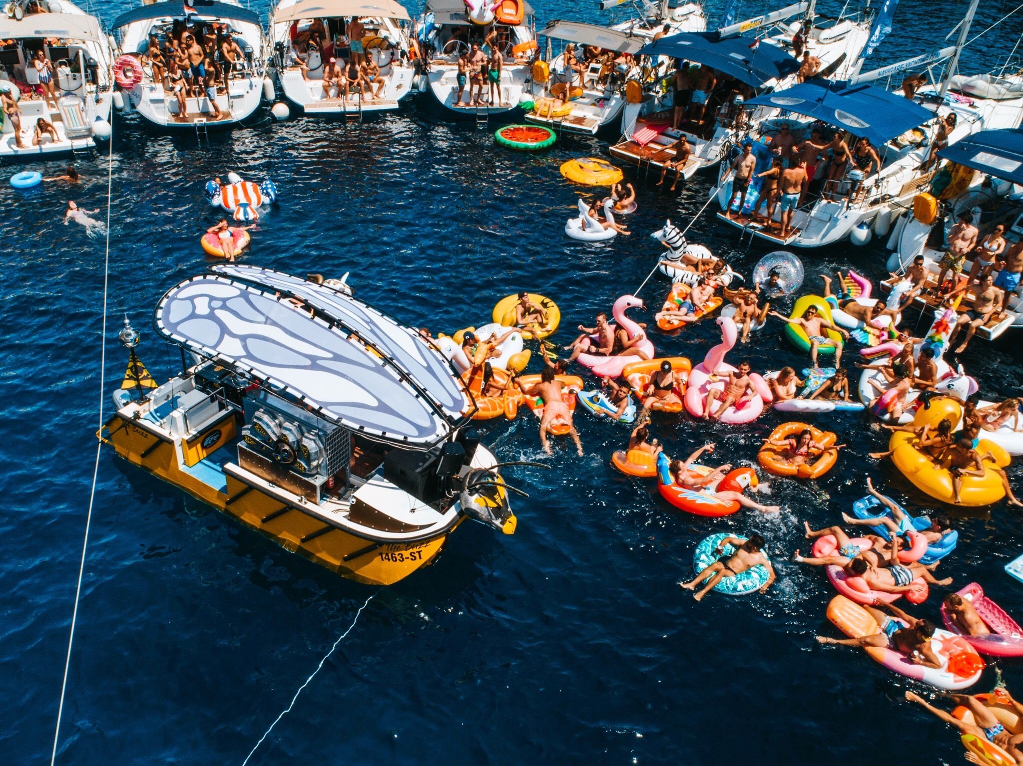 THE YACHT WEEK LAUNCHES 'FLOATING DJ STAGE' PHASE ONE ARTIST LINE UP |  IhouseU.com