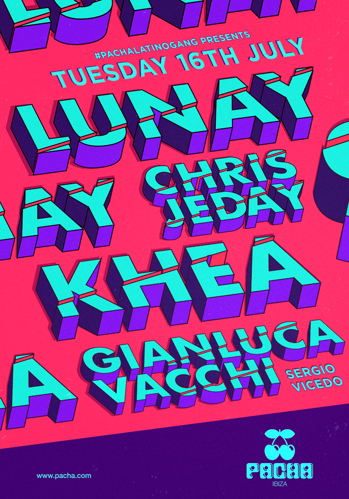 Ihouseucom Pacha Ibiza Latino Gang Presents Lunay Khea Chris